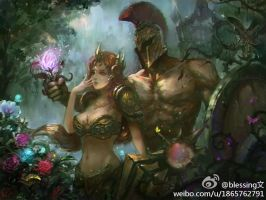 Leona And Pantheon by 187002725