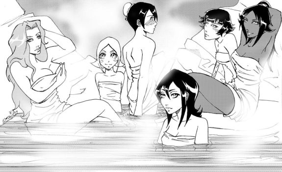 Day at the hot springs by ShujiE