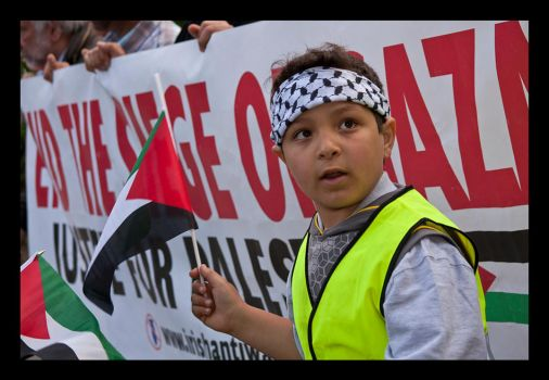 Protest against Israel 1 by M-M-X