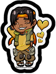 A Chibi Hunk by BlakeBlueArtistry