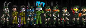 Colonial Marines TTA Crossover by GuiMontag