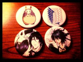 A New Addition To My Button Family by GermanyAndItaly