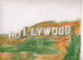 HollyWood Sign by Endrance88