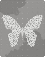 black n white butterfly by FadomLord