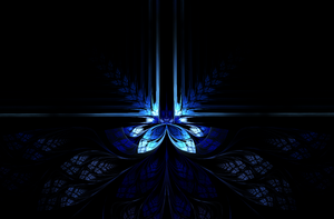 Neon - Fractal Art by CMWVisualArts