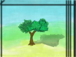 The Lonely Tree by Aldeas