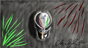 Pred mask by ChapeltheVicious