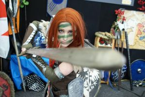 Aela the Huntress MKII by Vakarians Cosplay by Vakariansx