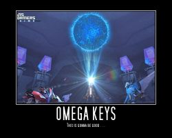 Transformers: Prime Regeneration Omega Keys Map by Onikage108