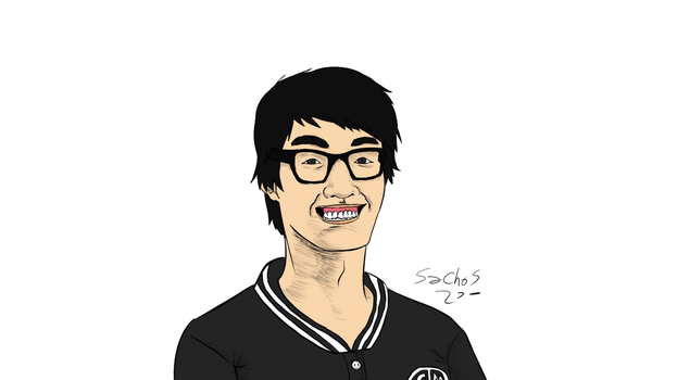 TSM WildTurtle Speed Drawing - League of Legends by sachos345