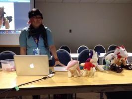 plush panel at G-Anime by Kitamon