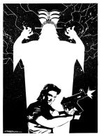 Jack Burton Shadow Emperor by Tom Kelly by TomKellyART