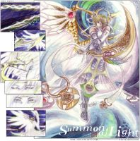 Summon of Light by maiji