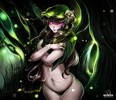 The Forest Witch 2: casting magic by hotbento