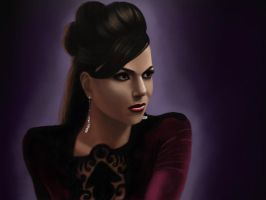 The Evil Queen by lize57