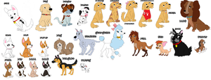 disney dogs- not done by webkinzfun8