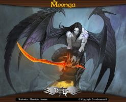 Moonga - Harbiger of Death by moonga