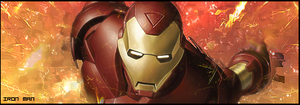 Iron man flying sig by KingS1ngh