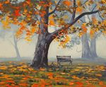 Park Bench by artsaus