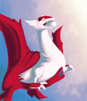 Raging Latias by RawChomp
