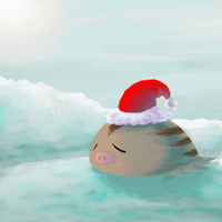 Santa Swinub by mamoswine