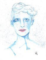 blue Watercolor by imaSweetserialKiller