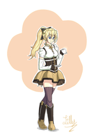 Satou Lilly as Tomoe Mami by MikeAngel05