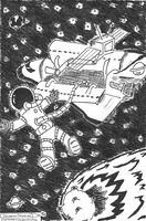 Space Adventures by GideonDoodles