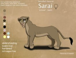 Sarai Ref Sheet by Nala15