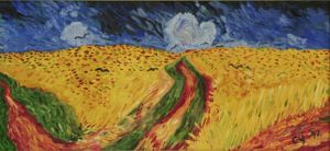 Copy of Wheatfield with Crows by CarolynYM