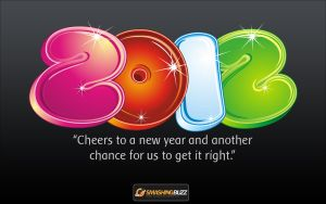 Beautiful New Year 2012 Widescreen Wallpaper by kashifmughal
