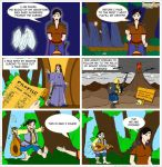 Lord of the Rings Webcomic by beleglin