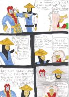 Mortal Kombat Comic 1 by SeSerkku