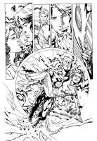 Flash page 2 inks Lashley by JoshTempleton