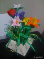 My Origami Flower Master Piece by Gaffonium