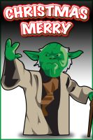 2011 Merry Christmas from Yoda by LoganM1988