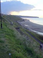 View along the sea front Whitby by Sceptre63