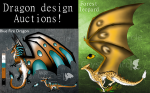 Dragon designs-$ or point auction (open) by CrystalCircle