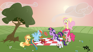 A Chicken Picnic by MachStyle