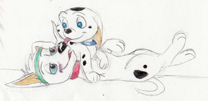 Tripig Fluffies by The101stDalmatian