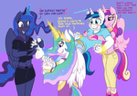 Shining Armor's Colorful Secret Revealed! by Caroos-Dungeon