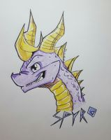 Spyro by CrimsonsCreations