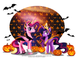 a Royal 'trick or treat' by selinmarsou