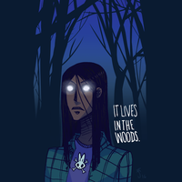 IT LIVES IN THE WOODS. by milo2