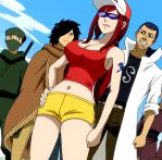 Erza running clothes by assassins-creed1999