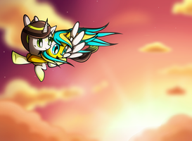 .:CE: Fly On The Wings Of Love:. by XxRubytheRabbitxX