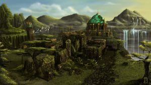The Lost City by EdBourg