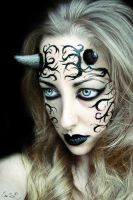 The Succubus Possession Halloween Makeup by Chuchy5
