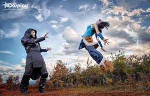 Amon and avatar korra - honduras by team-cosplay-hn