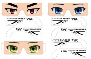 tw anime glasses by jolwelcome